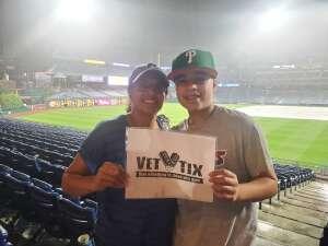 RL attended Philadelphia Phillies vs. Los Angeles Dodgers - MLB on Aug 10th 2021 via VetTix