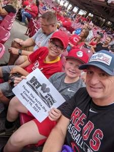 Click To Read More Feedback from Cincinnati Reds vs. Chicago Cubs - MLB
