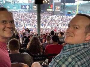 Bob attended Guns N' Roses 2021 Tour on Aug 3rd 2021 via VetTix