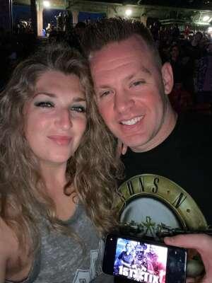 Chere attended Guns N' Roses 2021 Tour on Aug 3rd 2021 via VetTix