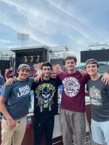 Lance attended Guns N' Roses 2021 Tour on Aug 3rd 2021 via VetTix