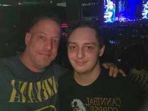 Joe attended Guns N' Roses 2021 Tour on Aug 3rd 2021 via VetTix