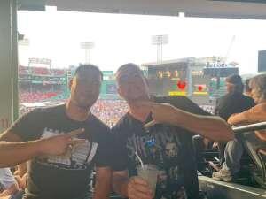 Reagan attended Guns N' Roses 2021 Tour on Aug 3rd 2021 via VetTix