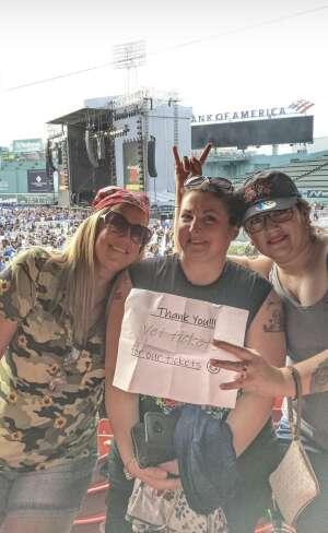 Michelle attended Guns N' Roses 2021 Tour on Aug 3rd 2021 via VetTix
