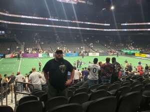 Jeff attended Arizona Rattlers vs. Frisco Fighters on Aug 21st 2021 via VetTix