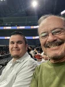 RayE attended Arizona Rattlers vs. Frisco Fighters on Aug 21st 2021 via VetTix