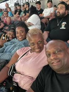 Veronica Griffin attended Arizona Rattlers vs. Frisco Fighters on Aug 21st 2021 via VetTix