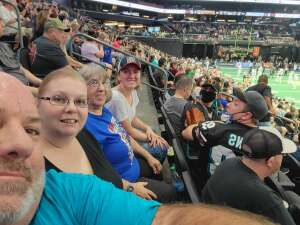 Don attended Arizona Rattlers vs. Frisco Fighters on Aug 21st 2021 via VetTix