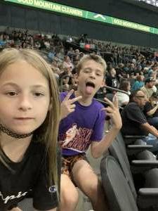 Jadie attended Arizona Rattlers vs. Frisco Fighters on Aug 21st 2021 via VetTix