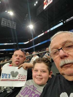 Lee Stambaugh attended Arizona Rattlers vs. Frisco Fighters on Aug 21st 2021 via VetTix