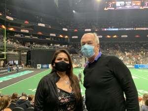 Janice attended Arizona Rattlers vs. Frisco Fighters on Aug 21st 2021 via VetTix
