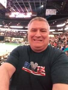 Eddie attended Arizona Rattlers vs. Frisco Fighters on Aug 21st 2021 via VetTix