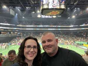 Matt Knollhuff attended Arizona Rattlers vs. Frisco Fighters on Aug 21st 2021 via VetTix