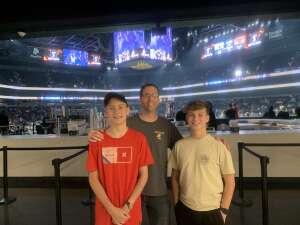 Tony attended Arizona Rattlers vs. Frisco Fighters on Aug 21st 2021 via VetTix