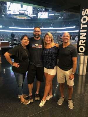 David attended Arizona Rattlers vs. Frisco Fighters on Aug 21st 2021 via VetTix