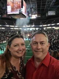 Doug attended Arizona Rattlers vs. Frisco Fighters on Aug 21st 2021 via VetTix