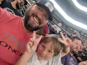 Warford Family attended Arizona Rattlers vs. Frisco Fighters on Aug 21st 2021 via VetTix