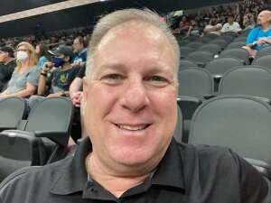 Pat attended Arizona Rattlers vs. Frisco Fighters on Aug 21st 2021 via VetTix