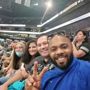 Raphael attended Arizona Rattlers vs. Tucson Sugar Skulls on Aug 8th 2021 via VetTix