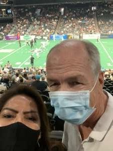Janice attended Arizona Rattlers vs. Tucson Sugar Skulls on Aug 8th 2021 via VetTix