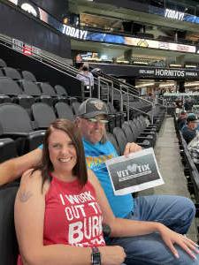 Scott attended Arizona Rattlers vs. Tucson Sugar Skulls on Aug 8th 2021 via VetTix