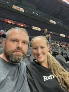 Dale attended Arizona Rattlers vs. Tucson Sugar Skulls on Aug 8th 2021 via VetTix