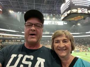 Greg Mattingly attended Arizona Rattlers vs. Tucson Sugar Skulls on Aug 8th 2021 via VetTix