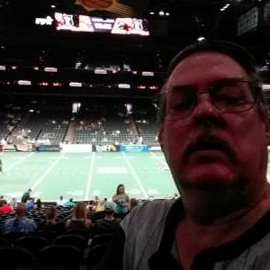 Mike attended Arizona Rattlers vs. Tucson Sugar Skulls on Aug 8th 2021 via VetTix
