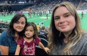 Michelle  attended Arizona Rattlers vs. Tucson Sugar Skulls on Aug 8th 2021 via VetTix