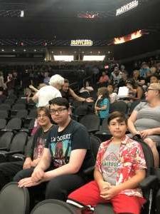 Ray attended Arizona Rattlers vs. Tucson Sugar Skulls on Aug 8th 2021 via VetTix