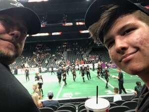 Tracy attended Arizona Rattlers vs. Tucson Sugar Skulls on Aug 8th 2021 via VetTix