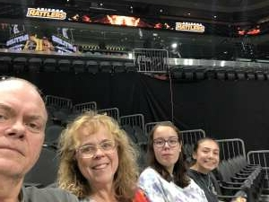 Kirk attended Arizona Rattlers vs. Tucson Sugar Skulls on Aug 8th 2021 via VetTix