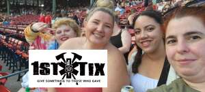 Mary attended New Kids on the Block at Fenway Park 2021 on Aug 6th 2021 via VetTix