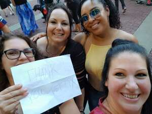 Jason G. attended New Kids on the Block at Fenway Park 2021 on Aug 6th 2021 via VetTix