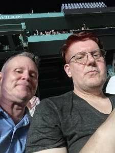 Scott attended New Kids on the Block at Fenway Park 2021 on Aug 6th 2021 via VetTix