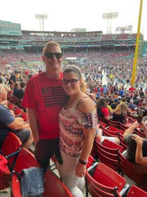 Ron attended New Kids on the Block at Fenway Park 2021 on Aug 6th 2021 via VetTix