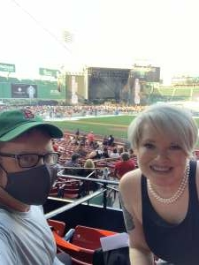 Sam attended New Kids on the Block at Fenway Park 2021 on Aug 6th 2021 via VetTix