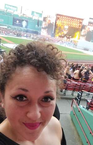 Iliana attended New Kids on the Block at Fenway Park 2021 on Aug 6th 2021 via VetTix