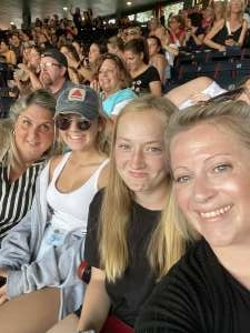 Keou2482 attended New Kids on the Block at Fenway Park 2021 on Aug 6th 2021 via VetTix