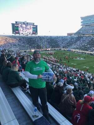 Click To Read More Feedback from Michigan State University Spartans vs. University of Nebraska - NCAA Football