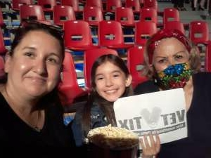 Andrea attended Circus Varges on Aug 5th 2021 via VetTix