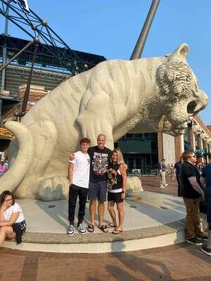 Robbins Family attended Guns N' Roses 2021 Tour on Aug 8th 2021 via VetTix