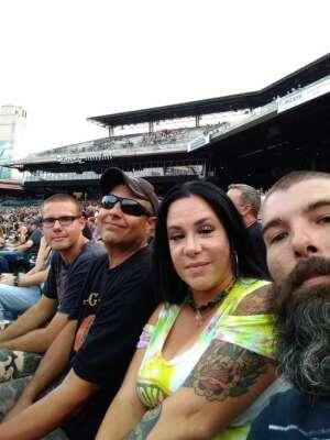 Greg attended Guns N' Roses 2021 Tour on Aug 8th 2021 via VetTix