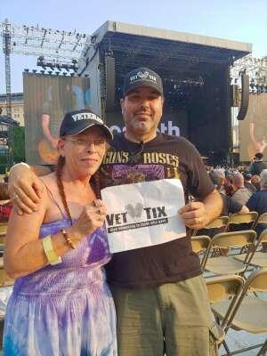 Brian S. attended Guns N' Roses 2021 Tour on Aug 8th 2021 via VetTix
