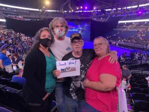 Dan Baux attended Disney on Ice Presents Mickey's Search Party on Sep 3rd 2021 via VetTix