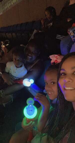 Cass Edwards  attended Disney on Ice Presents Mickey's Search Party on Sep 3rd 2021 via VetTix