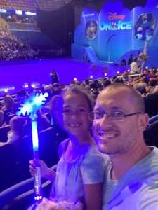 Adam attended Disney on Ice Presents Mickey's Search Party on Sep 3rd 2021 via VetTix
