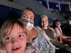 Caira attended Disney on Ice Presents Mickey's Search Party on Sep 3rd 2021 via VetTix