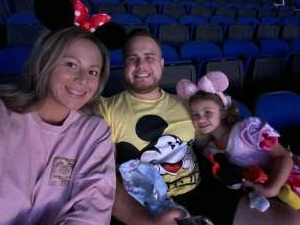 Cas  attended Disney on Ice Presents Mickey's Search Party on Sep 3rd 2021 via VetTix