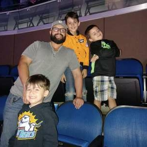 Brandon attended Disney on Ice Presents Mickey's Search Party on Sep 3rd 2021 via VetTix